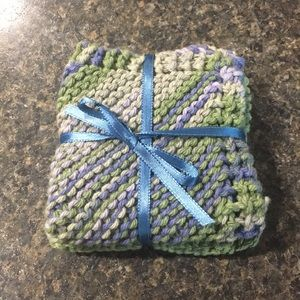 Hand Knitted Washcloths